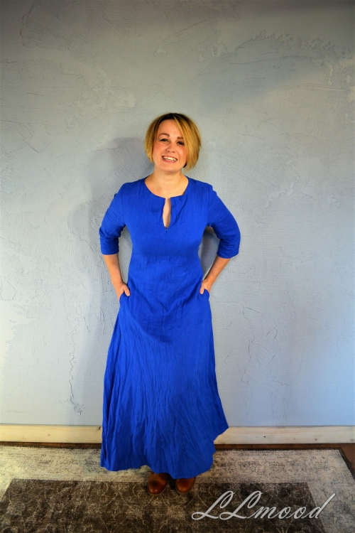 Lina kleita classic rudzupuku