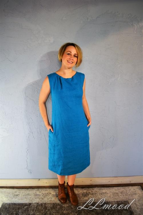 Lina kleita short tirkiz